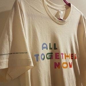 Starbucks Born This Way Foundation Pride T-Shirt
